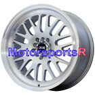 XXR 531 Wheels 17 x8 +35 Silver Mesh Rims 5x114.3 11 Mazda Rx8 08 16 Scion xB tC