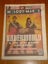 MELODY MAKER 1994 JANUARY 22 UNDERWORLD MOBY ORBITAL D:REAM