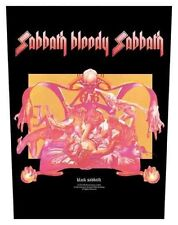 Black Sabbath-dos écusson Backpatch Sabbath Bloody Sabbath