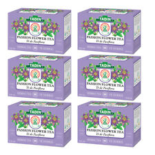 Tadin Tea Pasiflora / Passion Flower. Caffeine-Free. 24 Bags. 0.84 Oz. Pack of 6