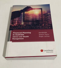 Financial Planning in Australia 8th Edition - Like NEW
