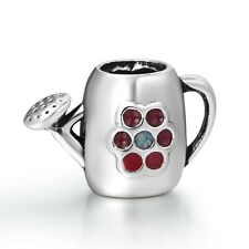 Watering Can Design Bead 925 Silver Fashion European Charm For Sterling Bracelet