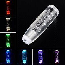 15cm Universal Crystal Bubble USB RGB Car Gear Stick Shift Knob Shifter Lever TR