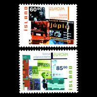 "Iceland 2003 - EUROPA STAMPS ""Poster Art"" - Sc 993/4 MNH"