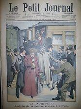 MAFIA PEGRE MARIAGE CHEF DES APACHES MAIRIE FRESNES PRISON LE PETIT JOURNAL 1903