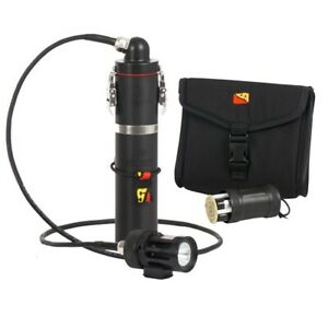 DiveRite HP50 Expedition Canister Dive Light System w/ 70 Degree Lid 150WH