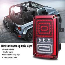 LED Tail Light for Jeep Wrangler JK 07-16 Brake Reverse Turn Singal Back Up Rear