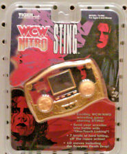TIGER ELECTRONICS - WCW NITRO GAME -  STING  - MADE IN 1998 - MODEL 74-092
