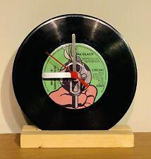 "The Clash - 7"" Vinyl Record Wall Clock"