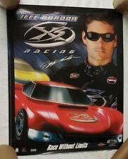 "Nascar Jeff Gordon Racing ""RACE WITHOUT LIMITS"" - 22"" X 18"" Poster"