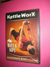Kettle Worx Butt and Hips {dvd}; New and Sealed - FREEPOST