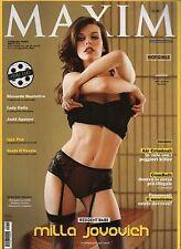 Maxim 2009 10.MILLA JOVOVICH,LADY GAGA,RICCARDO MONTOLIVO,IGGY POP,DAVID KARP,kk