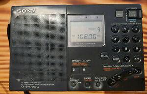 Sony Weltempfänger ICF-SW7600G