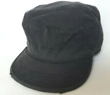 UltraForce Combat Cap Black Distressed size XL 7 3/4 Military Army