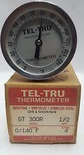 NEW! TEL-TRU GT300 THERMOMETER  34100454  (LOT FO 3)  (#68 C1N)