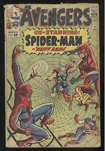 AVENGERS #11 AMAZING SPIDER-MAN CROSSOVER CLASSIC KEY