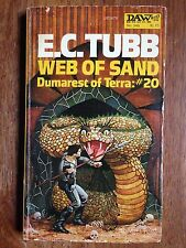 E.C. Tubb WEB OF SAND Dumarest Of Terra #20 1st 1979 VHTF L@@K WOW!!!