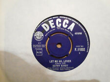 KATHY KIRBY,  LET ME GO LOVER,  DECCA RECORDS 1964  EX+