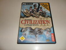 PC  Sid Meier's Civilization III - Conquests