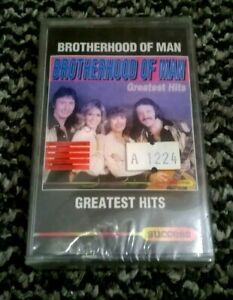 BROTHEHOOD OF MAN - GREATEST HITS (BEST OF)- TAPE CASSETTE - NEW & SEALED - RARE