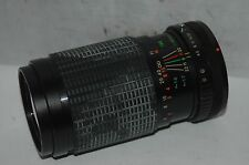 CLUBMAN MC  80-200 MM ZOOM LENS.  CANON FD BAYONET  FITTING :