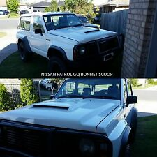 BONNET SCOOP FITTED TO NISSAN PATROL GQ scoop only unpainted