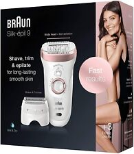 Braun Silk-epil 9-720 Wet & Dry Cordless Ladies Epilator