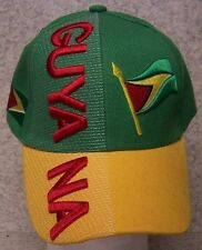 Embroidered Baseball Cap International Guyana NEW 1 hat size fits all