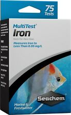 Seachem MultiTest IRON Liquid Water Test Kit Freshwater & Marine Aquariums