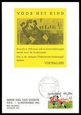 NIEDERLANDE MK 1976 FUßBALL FOOTBALL SOCCER MAXIMUMKARTE MAXIMUM CARD MC CM bv58