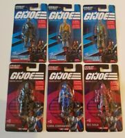 GI Joe Classified Limited Edition Mini Figures Complete Set of 6 Hasbro 2021 MOC