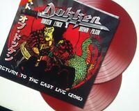 Dokken - Return to the East Live 2016 Lynch 2 Red Vinyl LP  150 ww NEU OVP
