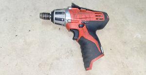 Milwaukee 2401-20 M12 Li Ion Cordless Impact Driver (Tool Only)
