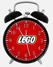 "Lego Alarm Desk Clock 3.75"" Room Office Decor Z63 Nice For Gift"