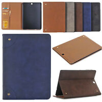 Leather Book Folding Folio Smart Case Stand Cover For Samsung Galaxy TAB Skin