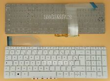 New For HP Pavilion 17z-f200 15z-p200 17-f000nf  Keyboard French Clavier White