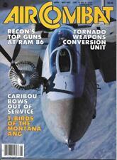 Air Combat May 1987 Top Guns RAM 86 Caribou Thunderbirds Montana ANG Tornado