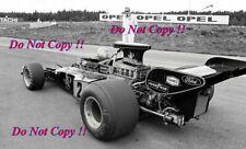 Ronnie Peterson JPS Lotus 72 E Swedish Grand Prix 1973 Photograph 5