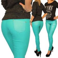 Slim, Skinny, Treggings Stretch Plus Size Trousers for Women