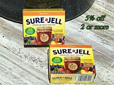 Sure Jell 100% Natural Premium Fruit Pectin NEW For Canning..