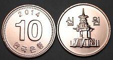 2014 South Korea 10 Won Coin BU Very Nice  KM# 103