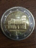 2 Euro € Münze 017 D A Rheinland-Pfalz Einzigartige Fehlprägung & Scharfe Kanten
