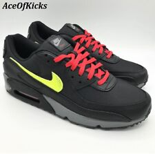 Nike Air Max 90 Premium FDNY NYC Black Yellow Red US SZ 11 Men's CW1408-001