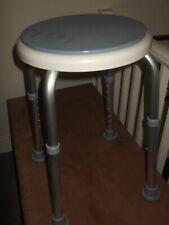 modern adjustable shower/ bathroom stool