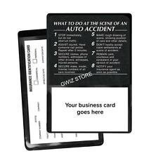 Auto Insurance Registration  ID Card Holders - At The Scene Of An Auto Accident