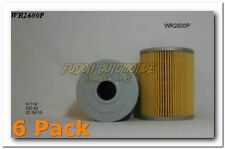 6 x WR2600P Wesfil Oil Filters TRADE PACK - Ryco Equiv  R2600P