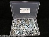 Metric Fine Thread Nut, Bolt Hex Head & Washer Grade 10.9 Assortment Lock nuts