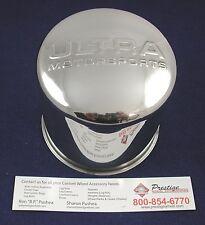"NEW ULTRA WHEEL STAINLESS PUSH THRU CENTER CAP PART# 89-8126SS FITS 4 1/4"" BORE"