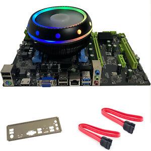 AMD Gaming Motherboard CPU RAM Combo 4.1GHz 16GB Radeon HD HDMI USB3