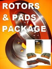 Smart 2003-2017 FRONT 280mm SOLID Disc brake Rotors & PADS PACKAGE